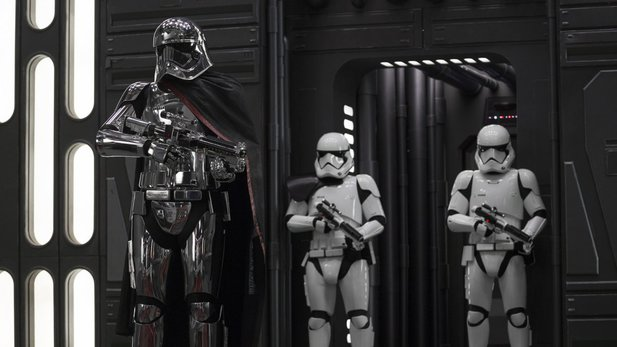 Captain Phasma in Star Wars: Episode 8.