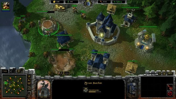 Die Mod »WarCraft: Armies Of Azeroth« verwandelt StarCraft 2 in das Strategiespiel WarCraft 3.