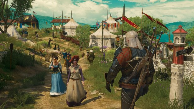 The Witcher 3: Blood and Wine ist offenbar dreimal so groß wie Hearts of Stone.
