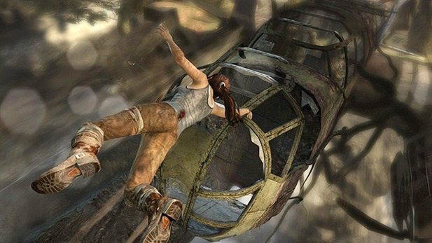 E3-Demo-Gameplay von Tomb Raider