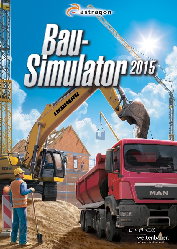 bau simulator 2015 pc spiele cover gamestar. Black Bedroom Furniture Sets. Home Design Ideas