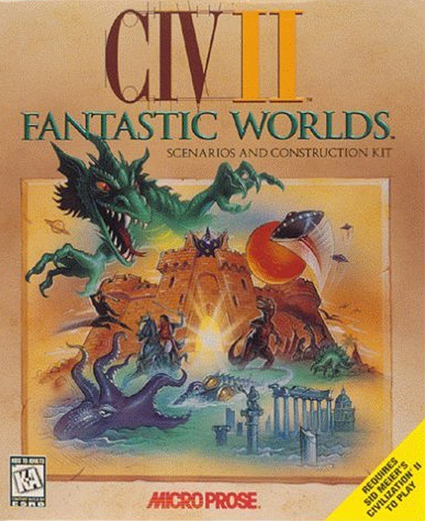 Cover zu Civilization 2: Fantastic Worlds