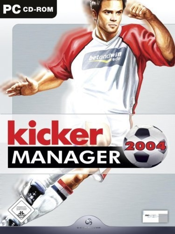 Cover zu Kicker Manager 2004