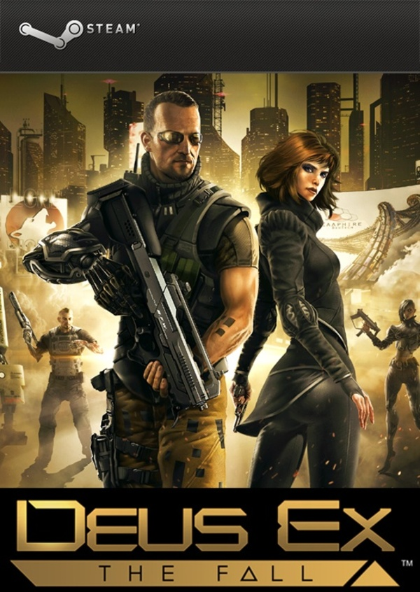 Cover zu Deus Ex: The Fall