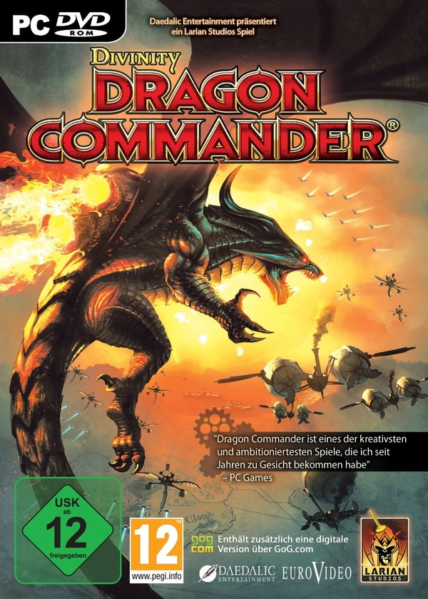 Cover zu Divinity: Dragon Commander