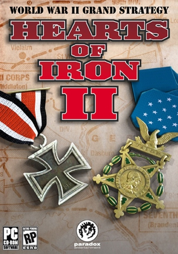 Cover zu Hearts of Iron 2