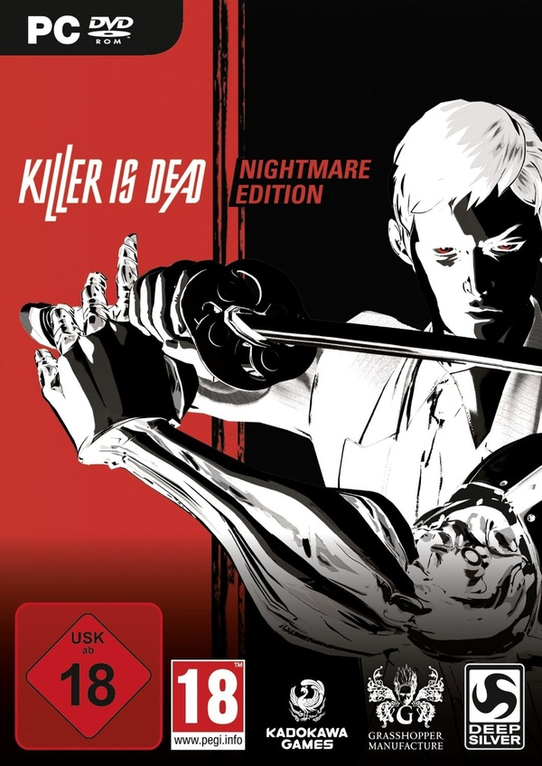 Cover zu Killer is Dead: Nightmare Edition