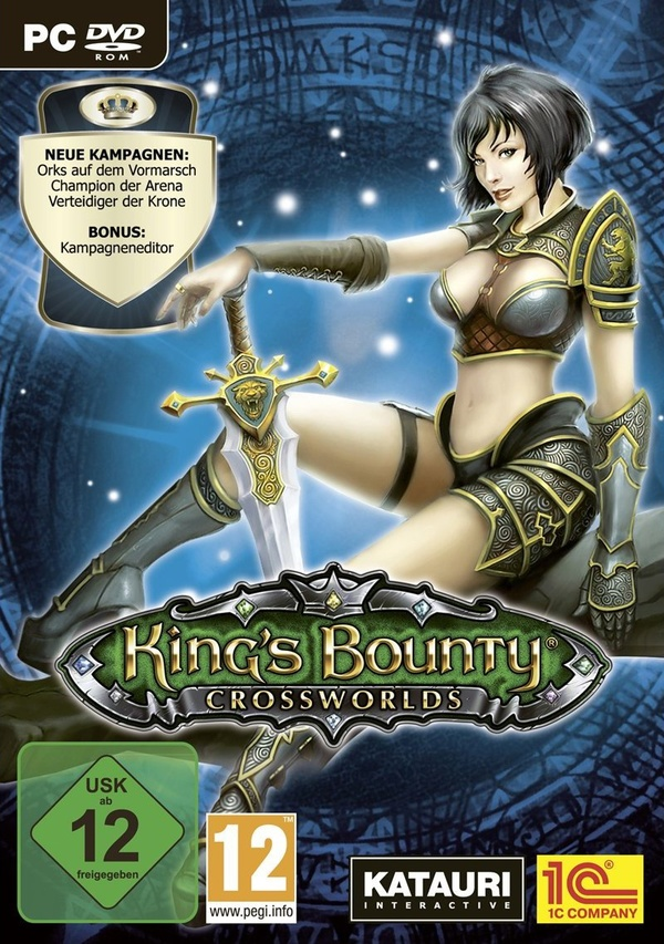 Cover zu King's Bounty: Crossworlds