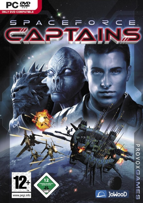 Cover zu Spaceforce Captains