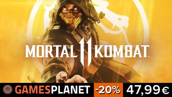 Mortal Kombat 11 - 20% Rabatt auf die neuen Fatalities