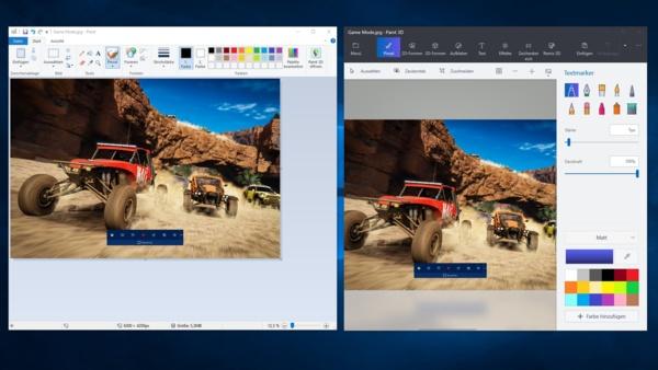 Doch kein Ende von Windows Paint - Microsoft bestätigt Verbleiben in Win 10