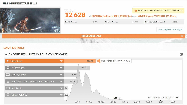 Ryzen 3000-Benchmarks in 3DMark-Datenbank zeigen Vorsprung