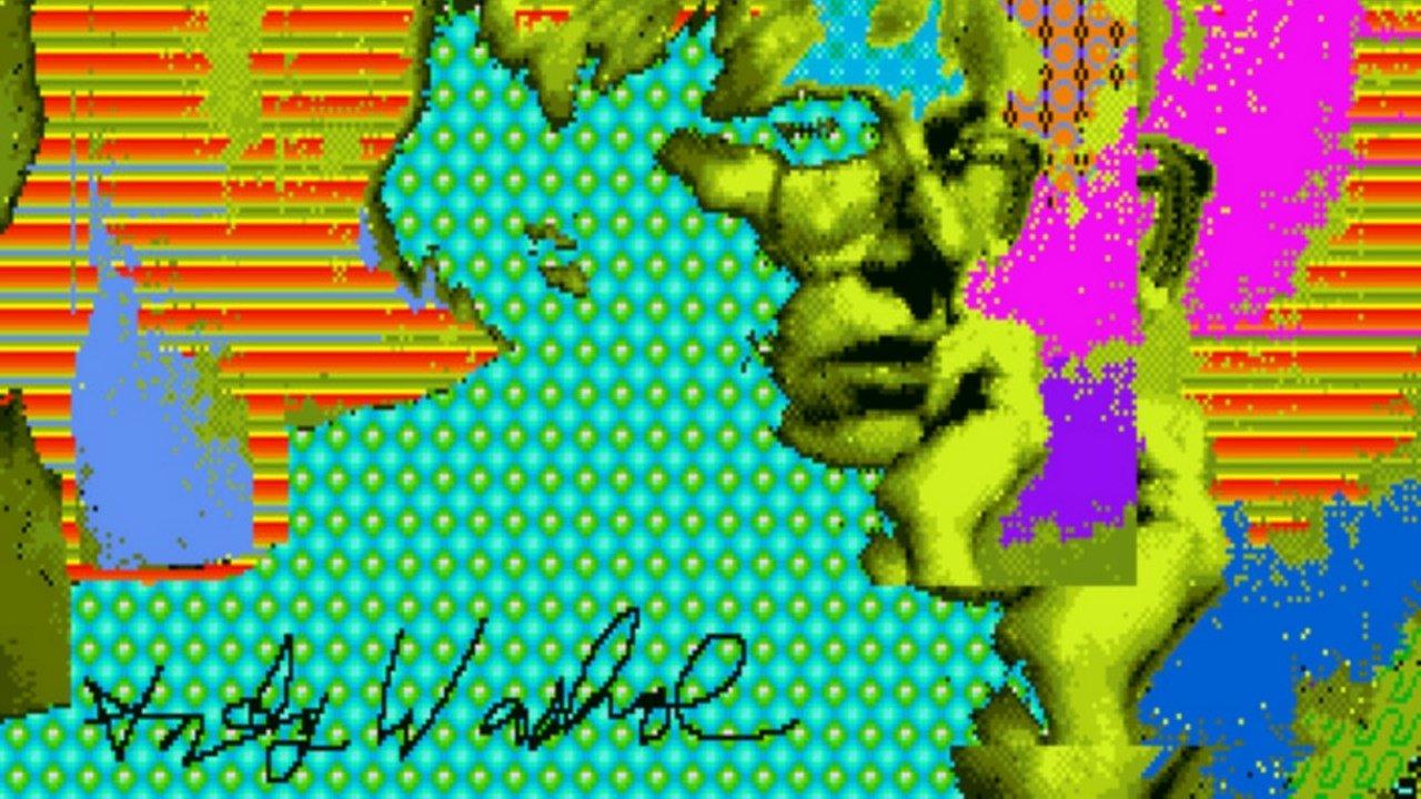 Amiga Kunstwerke Von Andy Warhol Unbekannte Bilder Von Uralten