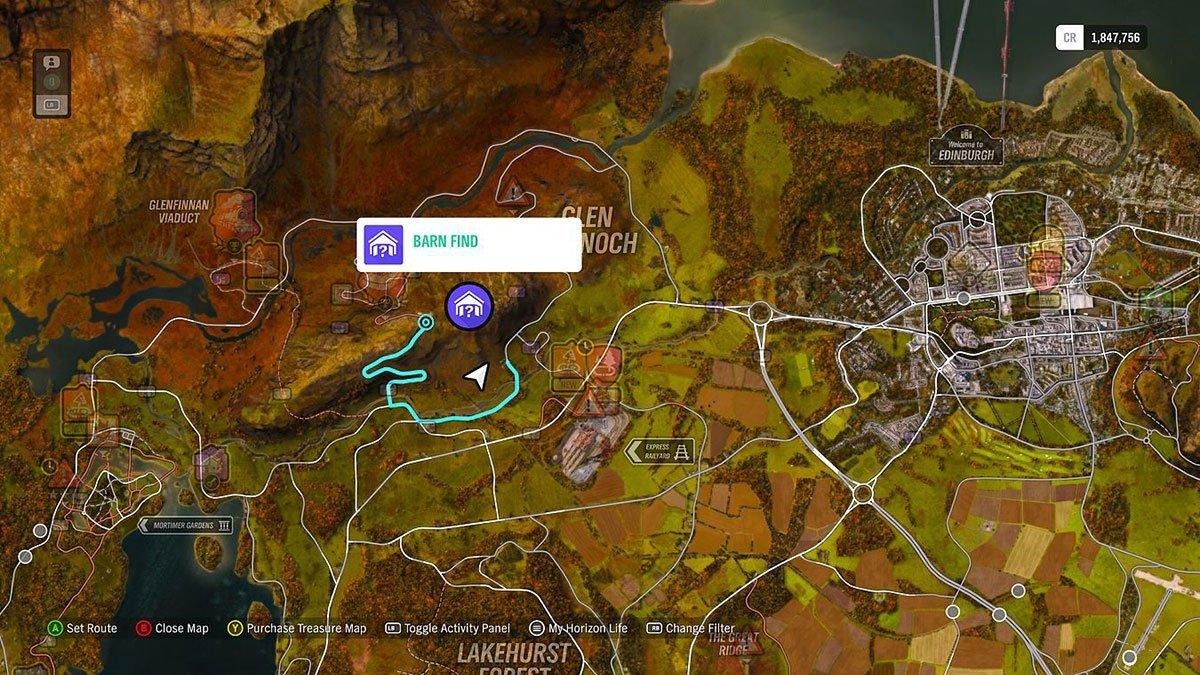 Forza Horizon 4 Scheunenfund