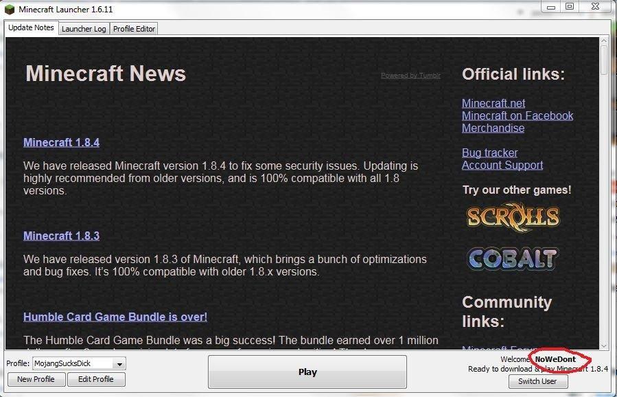 Minecraft Mojang Trollt Spieler Wegen Namenswahl GameStar - Minecraft namen andern minecraft net