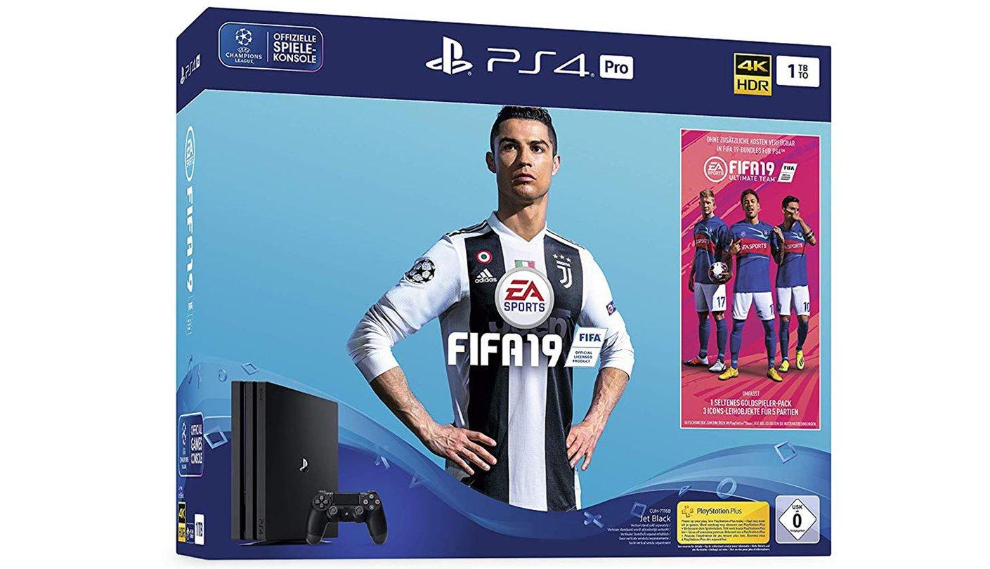 Fifa 19 Bundles Mit Xbox One S Oder Playstation 4 Pro Sportliche