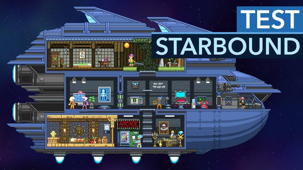 Starbound Im Test Freiheit Im Pixel Weltraum