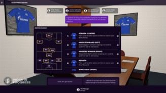 Football Manager 2021 - Recruitment Meeting - Agenda