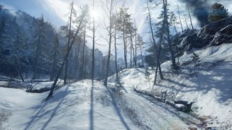 Battlefield 1: In the Name of the TsarScreenshot von der Karte Lupkow Pass