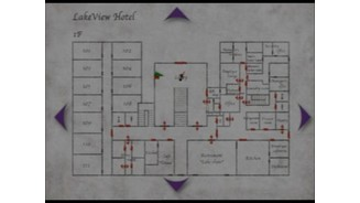 LakeView hotel map, interiors will have lots of rooms and floors to explore