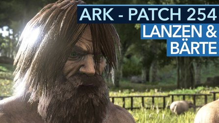 Ark: Survival Evolved - Neue Frisuren und Lanzenstechen im Video