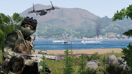 Arma 3: Apex - Launch-Trailer zum Riesen-DLC