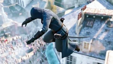 Assassin's Creed Unity - Reale Parkour-Kunst im Comic-Con-Trailer