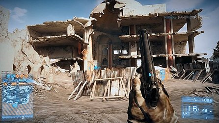 Battlefield 3: Aftermath - Gameplay zur neuen Map Azadi-Palast (PS3-Version)