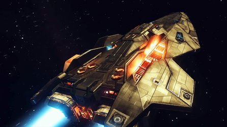 Elite: Dangerous - Trailer zum Raumschiff »The Mighty Anaconda«