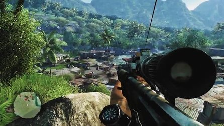 Far Cry 3 - Vorschau-Video zu Ubisofts Insel-Shooter