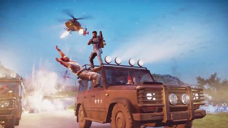 Just Cause 3 - Eine actionreiche Mission voller Explosionen