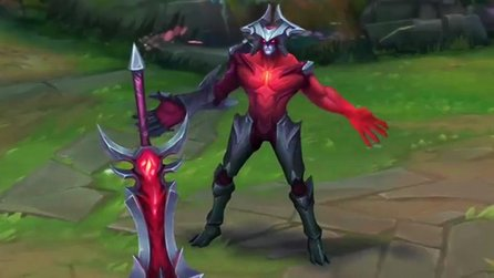League of Legends - Champion Spotlight: Alle Fähigkeiten von Aatrox nach dem Rework