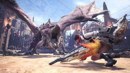 Monster Hunter World - Steam spamt Spieler mit Notifications voll