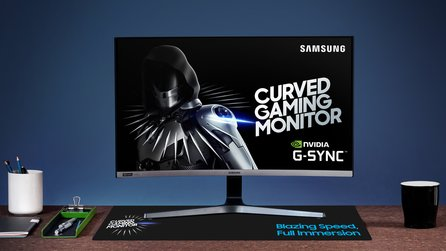 Samsungs »erster Gaming-Monitor mit G-Sync« - aber ohne G-Sync-Modul
