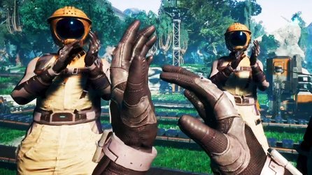 Satisfactory Early Access im Test - Aliens am Fließband