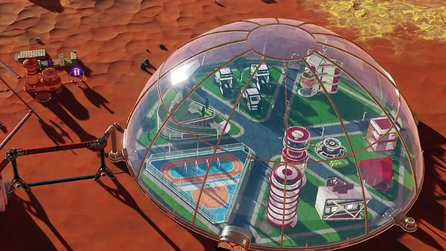 Termin & Details zu Surviving Mars: Space Race im Trailer