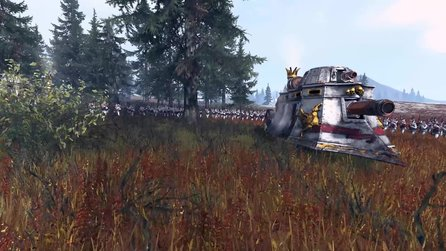 Total War: Warhammer - Trailer: So besiegt man Dampfpanzer des Imperiums