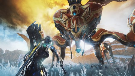 Warframe: Fortuna & Railjack - 32 Minuten Gameplay der Venus-Open-World und Raumschiffkämpfe