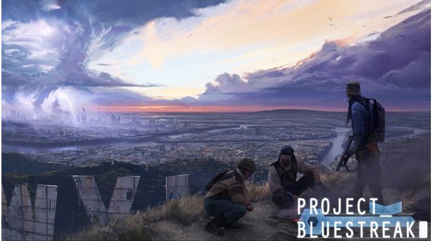 Project Blue Streak - Artwork