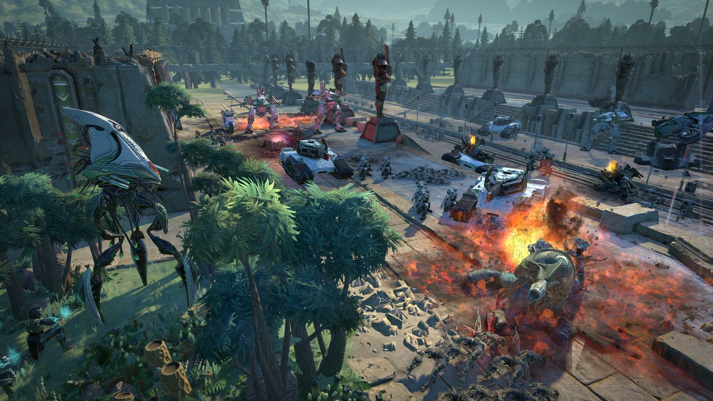 Age of Wonders: Planetfall Screenshot