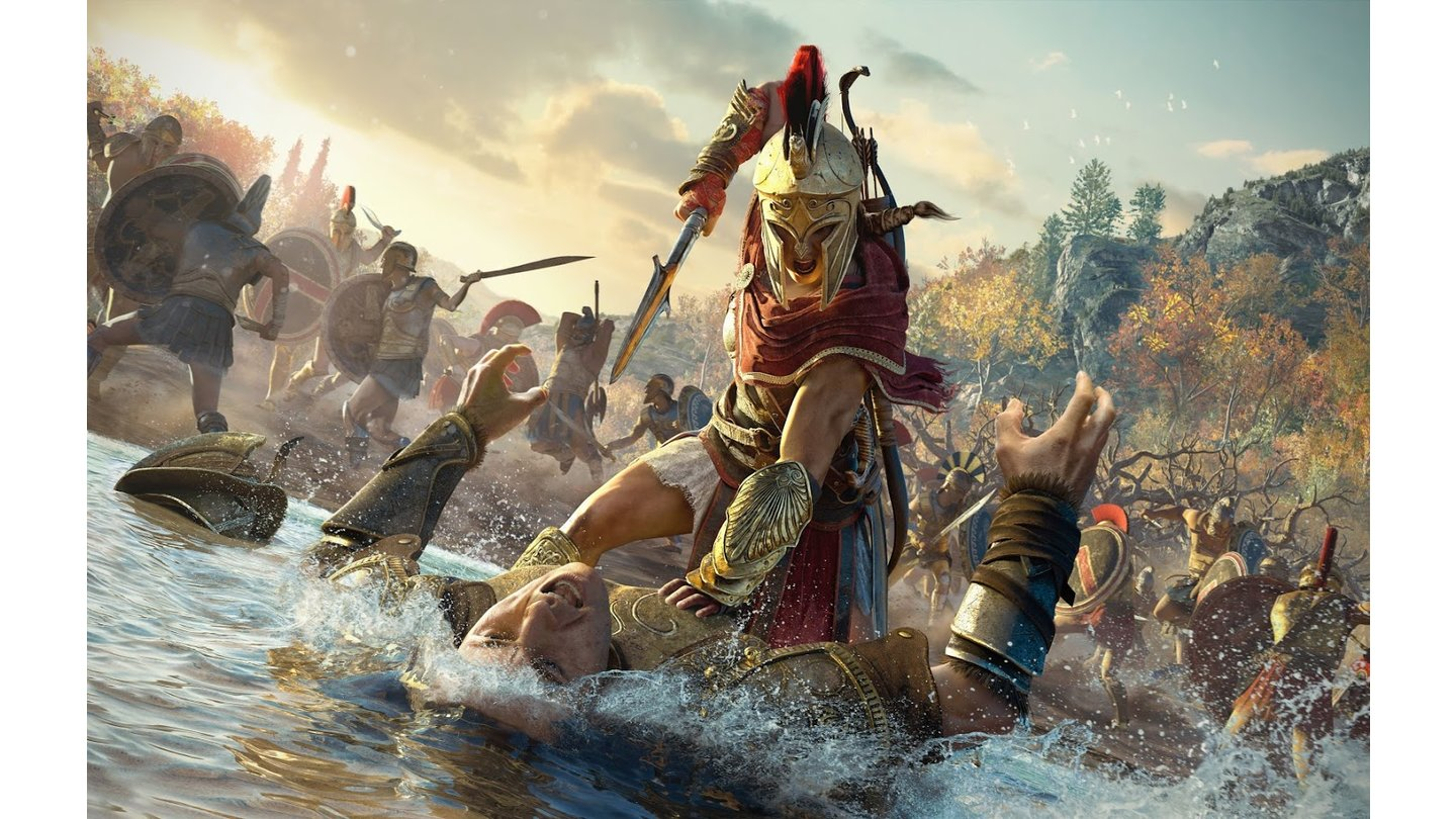 Assassin's Creed: Odyssey - Gamescom-Screenshots