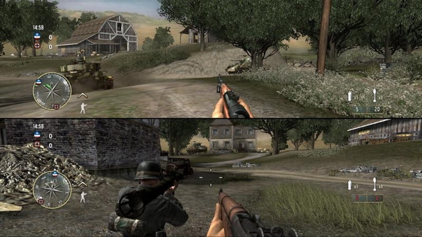 call of duty 3 wii 10