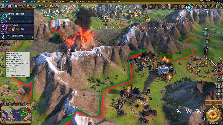 Civilization 6: Gathering Storm - Screenshots