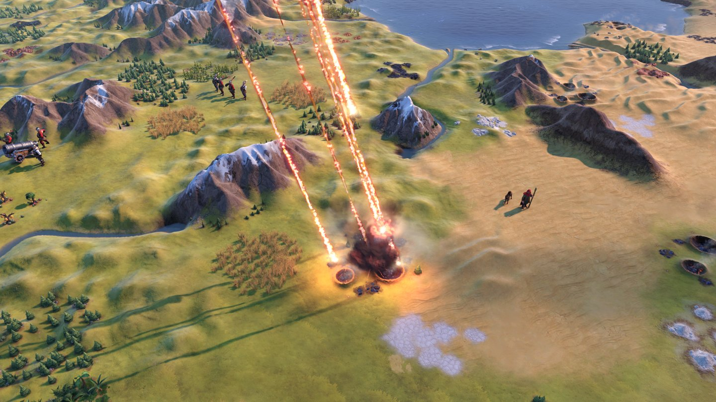 Civilization 6 - New Frontier Screenshot