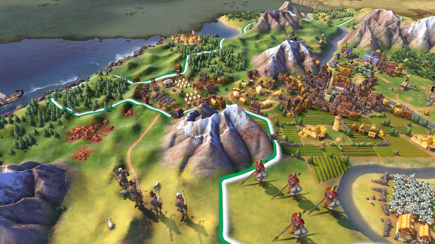 Civilization 6 - Screenshots von der E3 2016