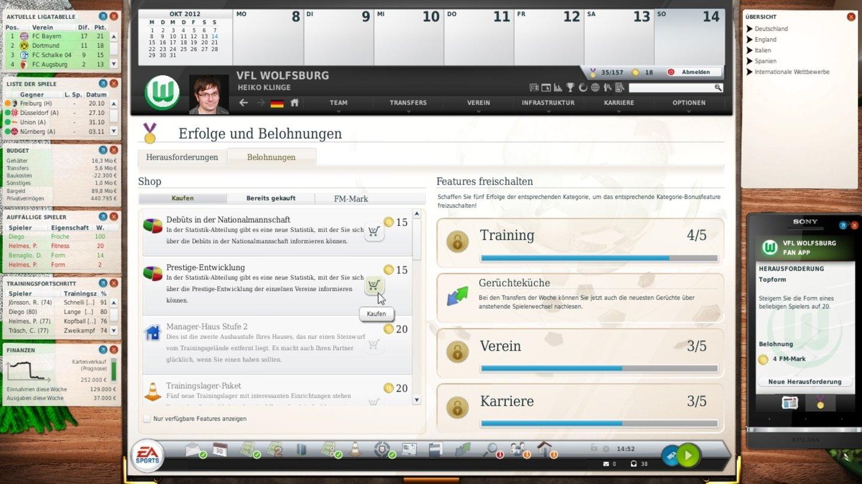 Fussball Manager 13 Screenshots
