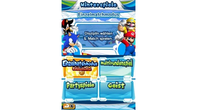 Mario Sonic Bei Den Olympischen Spielen Ds Gamestar