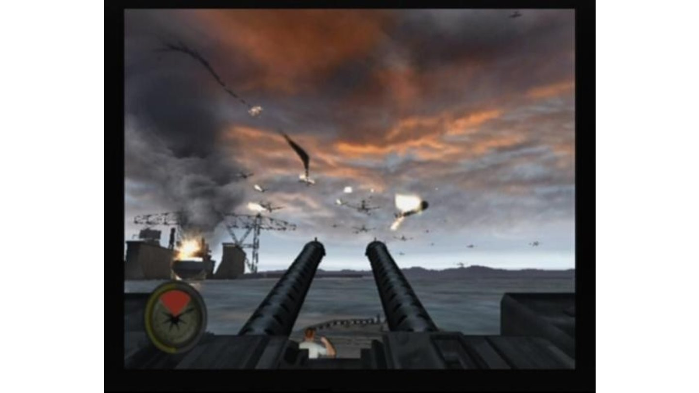 Taking out enemy bombers before they drop their torpedoes and escape