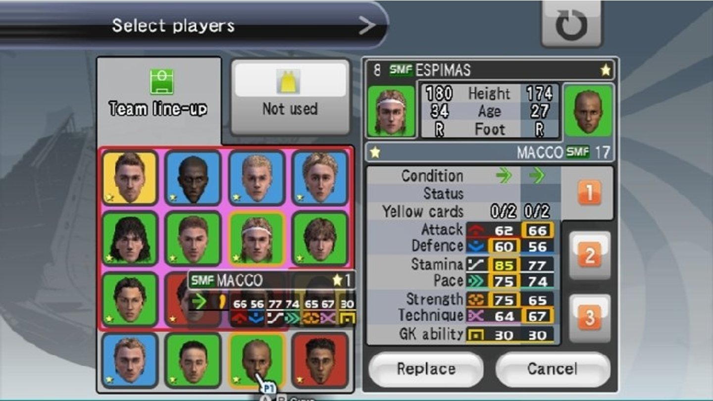 PES 2008 Wii 2