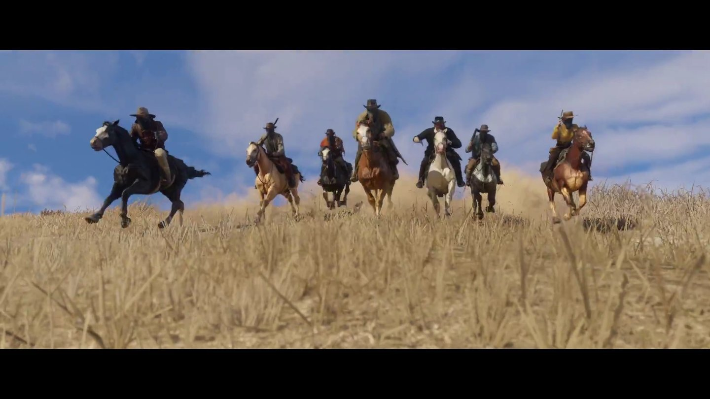 Red Dead Redemption 2 - Screenshots aus dem Debüt-Trailer